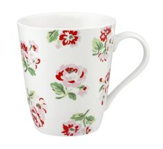 Cath Kidston Ashdown rose Stanley Mug white