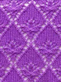 Lace Knit Stitch Pattern - free
