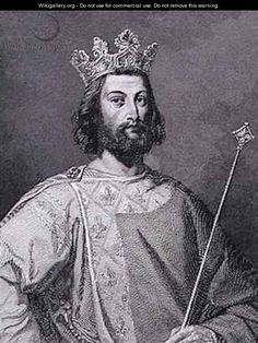 Louis VII 'the Younger' Capet, King of France - 27th Maternal Great Grandfather.