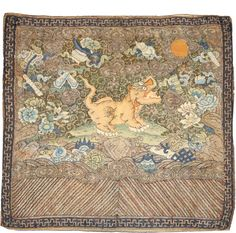 antique chinese textile - Google Search