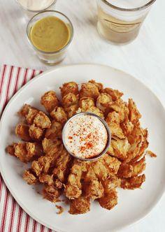 Bloomin' Onion recipe....