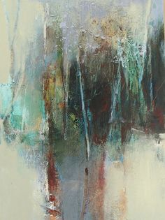 "Contemporary Mixed Media - ""Portal"" (Original Art from Joan Fullerton)"