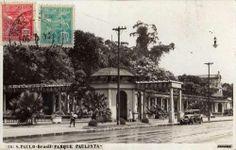1930 - Avenida Paulista, imagem do Parque Trianon.