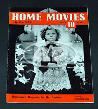4-39 Home Movies Magazine with Shirley Temple on Cover and Rose Parade Ad