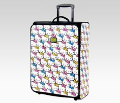 i'd never loose my luggage with this on my side! <3