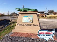 Grab your camera, pack your fishing pole, and remember the sunscreen before heading out on Louisiana's Creole Nature Trail.      The trail consists of 180 miles of bayous, marshlands, and beaches that truly showcase the untamed natural beauty of Southwest Louisiana.
