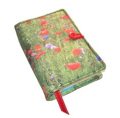 Handmade Book Cover Padded Bible Jacket Wild by WhimsyWooDesigns