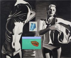 David Salle, Hitchikers
