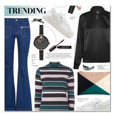 """Trending"" by anyasdesigns ❤ liked on Polyvore featuring STELLA McCARTNEY, Sole Society, Karl Lagerfeld, Dorothy Perkins, Movado, Melissa, Bobbi Brown Cosmetics and Sigma"