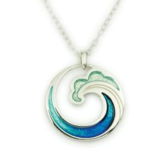Coastal pendant by Ortak