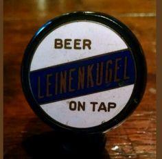 Rare Vintage 1930/1940 Leinenkugel beer tap ball knob sold on eBay for $241