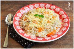 ideias para variar o arroz