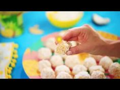 Tropical Coconut Balls Recipe Is Pure Delight On A Dish