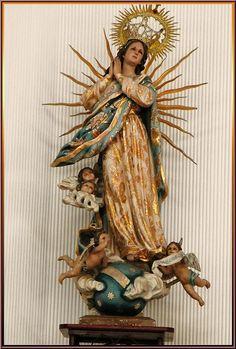 Parroquia de Nuestra Señora de la Asunción de María (Loma Bonita) Estado de Oaxaca,México by Catedrales e Iglesias, via Flickr