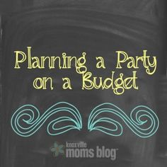 Great tips for saving money on birthday parties!