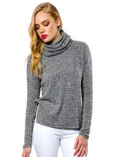 Cowl Neck Sweater (Also in Dark Blue)