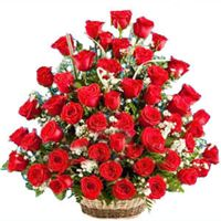 Send Red roses and Lily flowers bouquet on Christmas To Vizag Rose Delivery, Online Flower Delivery, Same Day Flower Delivery, Beautiful Rose Flowers, Wonderful Flowers, Rose Basket, Flower Baskets, Online Birthday Gifts, Flowers Online