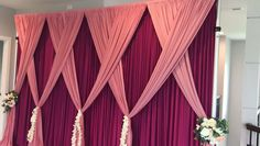 Quick and easy backdrop design