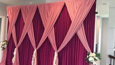 Quick and easy backdrop design Wedding Backdrop Design, Desi Wedding Decor, Prom Decor, Diy Backdrop, Backdrop Decorations, Diy Wedding Decorations, Video Backdrops, Mehndi Decor, Background Decoration