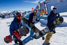 Snowlab.de - Snowboard-News: 1. Tourstop: #Hintertuxer #Gletscher