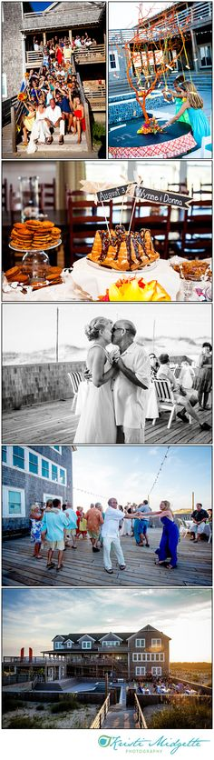 Outer Banks Wedding at Wild Horse House in Carova, NC
