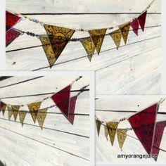 Glass flag bunting Amy OrangeJuice