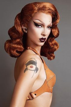 Violet Chachki • RuPaul's Drag Race • Winner of Season 7 Drag Queen Makeup, Drag Makeup, Beauty Makeup, Drag Wigs, Rupaul Drag Queen, Violet Chachki, Adore Delano, Amazing Women, Sexy