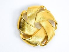 Vintage Napier Brooch - Gold Brooch - Napier Pin - Gold Pin - Heirloom Gift - Gift for her - Mom Gift