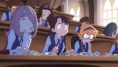 Say what? --Little Witch Academia--
