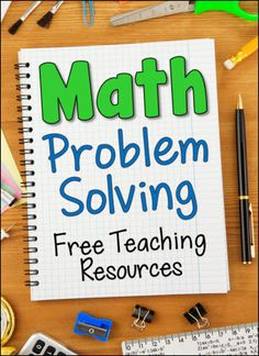 Laura Candler's Math Problem Solving online file cabinet page on Teaching Resources
