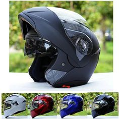 2018 NEW Motorcycle Winderproof Modular Helmets with Dual Lens