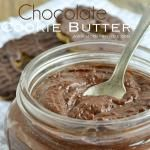 {3 ingredient} Chocolate Cookie Butter