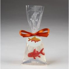Carnival theme prize - this is really soap with a plastic gold fish - too cute!