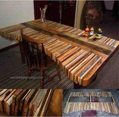 Amazing DIY Pallet Table