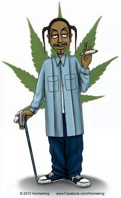 .Snoop Dogg via HOMIE Style. HO,HO,HO.