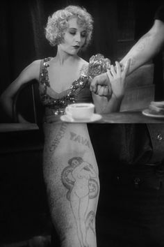 Betty Compson, The Docks of New York, Josef von Sternberg, 1928.