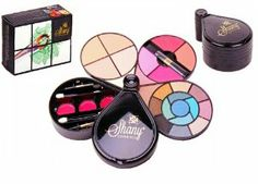 SHANY Deluxe Make up kit 44pc GIFT SET by SHANY Cosmetics. $17.14. Mirror and brushes included. Eyeshadow, Blusher, Press powder, lip glosses, and brushes with mirror. All you need in one elegant design box made out of top quality minerals. Once you have this kit, you will no longer have to carry around a big, heavy make up bag with you. All you need is in one small kit that you can take with you everywhere.  34 colors of eyeshadow, 5 different and popular shade...
