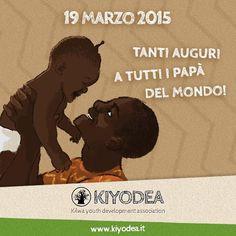 Auguri a tutti i papà da Kiyodea Italia Onlus! Happy Father's Day! #Happyfathersday #Festadelpapà #kiyodeaitalionlus  www.kiyodea.it