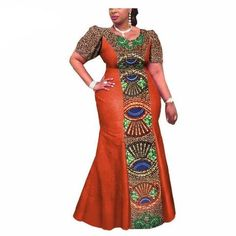 Image of Private Custom African Print Traditional Ankara Dress for Women - Owame African Formal Dress, African Traditional Dresses, African Dresses For Women, African Print Dresses, African Print Fashion, Africa Fashion, African Attire, African Fashion Dresses, African Blouses