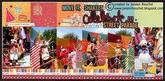 Layout: Move It, Shake It, Celebrate It! Street Parade
