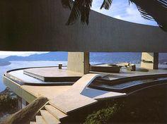 House for Mr and Mrs Jeronimo Arango, Acapulco, 1973. Arango residence. Architect John Lautner.