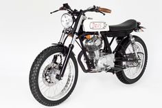 """Ahh… the beauty of the 1976 Honda CB 100 """"Furioso"""" Mk II. She may have been born in the 70's, definitely ridden hard and put on a shelf, but in no way was she retired. After... More"""