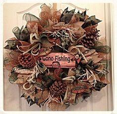#wreath #gonefishing