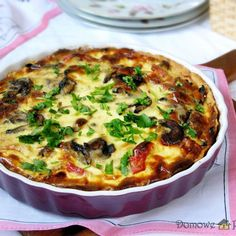 Quiche, Savory Tart, Snack Recipes, Snacks, Feta, Hamburger, Recipies, Food And Drink, Healthy Eating