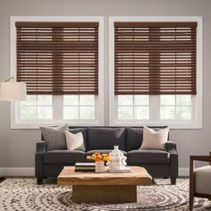 These Real Simple Cordless Faux Wood Blinds provide the look of real wood yet have increased durability and moisture resistance. The easy-lift cordless operating system eliminates dangling cords and is a great option for homes with children and pets.