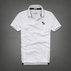 Mens Baker Mountain Polo (White) | Mens Polos |