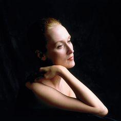Meryl Streep by Brian Aris