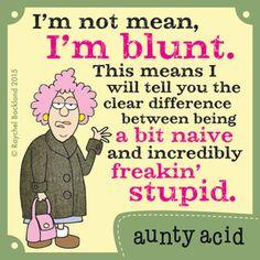 Aunty Acid Comic Strip, June 25, 2015 on GoComics.com