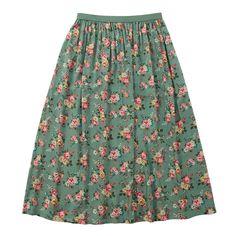 NEW Skirts | Kingswood Rose Long Skirt | #CathKidston