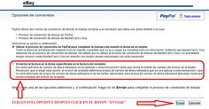 [Info] Comision PayPal por conversion de divisas!!!